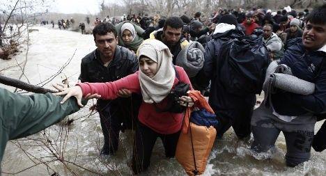 Austrian activist arrested after refugee river drama