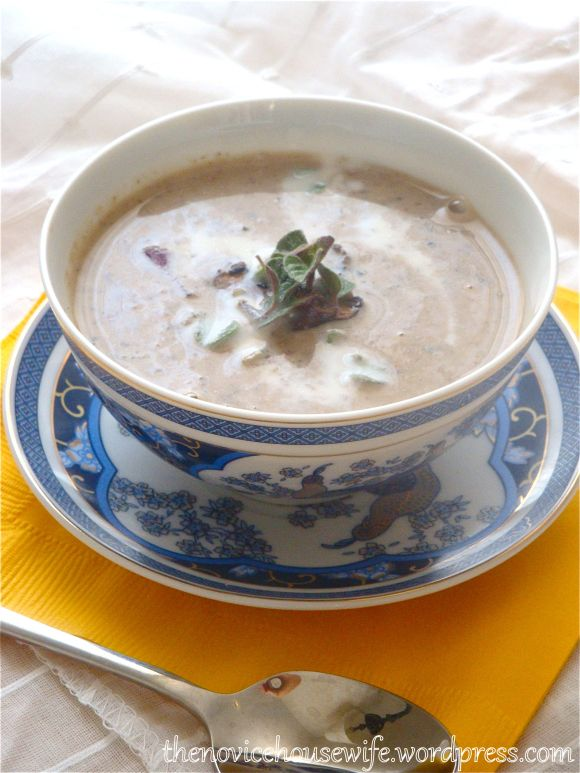 Spicy Garlic Mushroom Soup | Chef' Delish | Pinterest