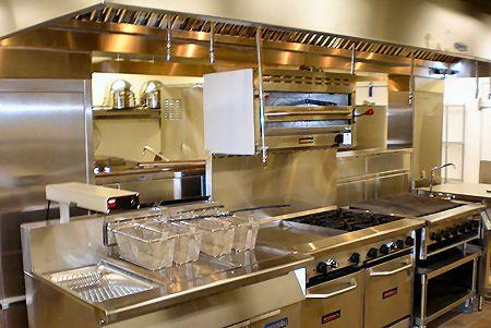 45 best images about commercial restaurant kitchen - Professional home kitchen design ...