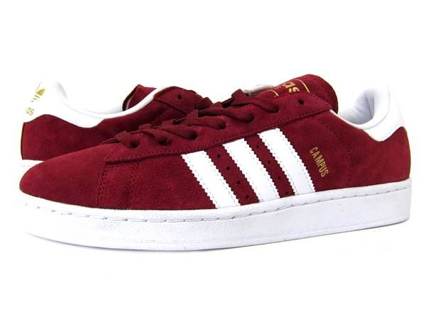 Details about ADIDAS CAMPUS 2 G22970 CARDINAL RED/RUN WHITE - SUEDE CASUAL  ATHLETIC SHOES | Adidas campus, Athletic shoes and Athletic