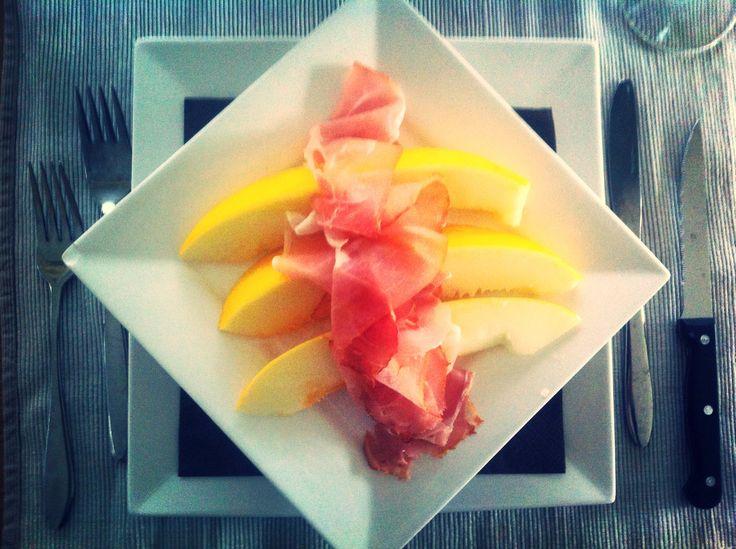 Meloen & ham, jam!
