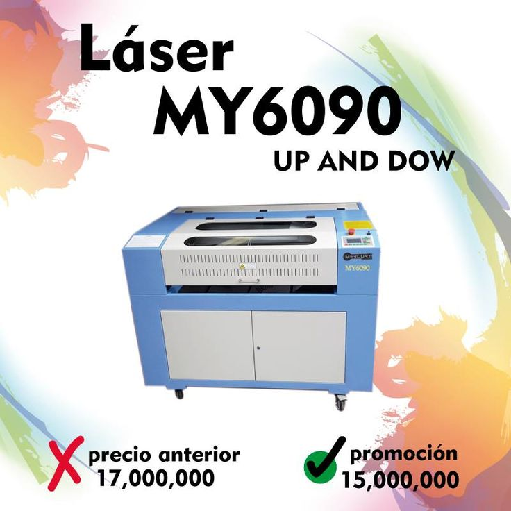 Maquina Láser MY6090 Up and Down