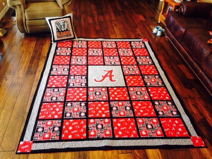 113 Best Images About College Quilt Ideas On Pinterest