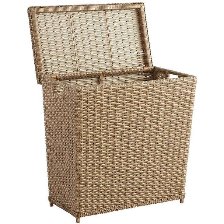 Decorative Laundry Hamper 234 Best *decor  Baskets* Images On Pinterest  Rattan Wicker And
