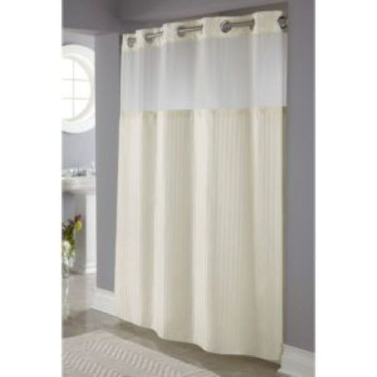 The 25+ best Fabric shower curtains ideas on Pinterest   Extra ...