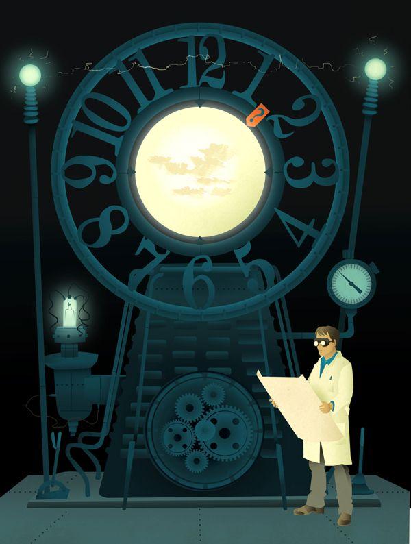 Magazine illustration #04 on Behance