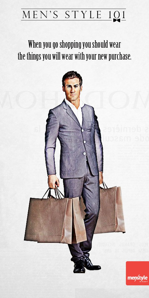 Men's style – Tips on how to become a better shopper
