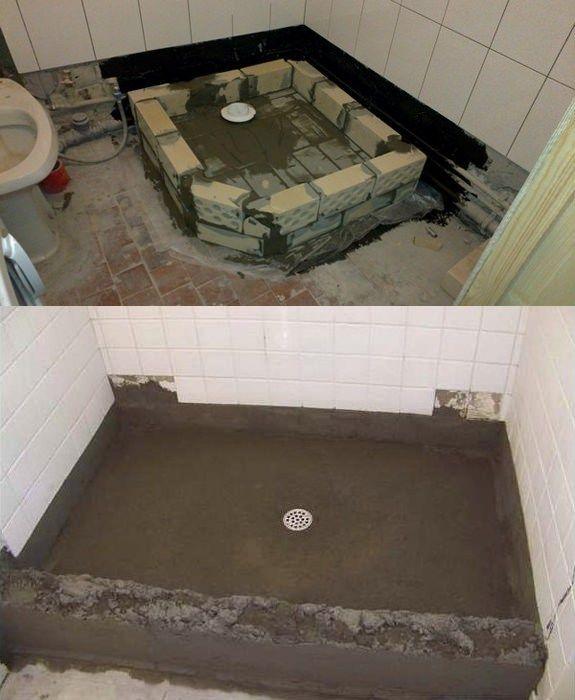 Поддоны из бетона затереть бетон