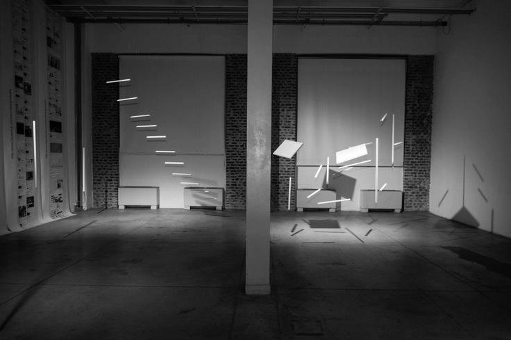 a r i a Il vuoto che arreda #design #installation @viafarini @lafabbricadelvapore @UnconventionalProject