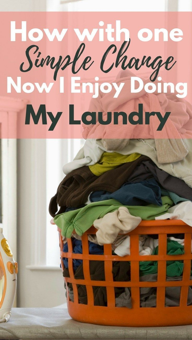 How To Enjoy Doing Laundry in 2020 | Laundry motivation ...