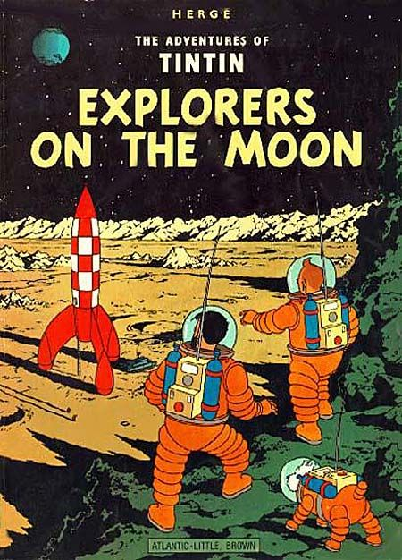 Explorers on the Moon by Herge - One of my first picture books, and probably the text that spawned my love for comic books. The whole series is a treat, and great for encouraging children to read in French alongside MFL learning.