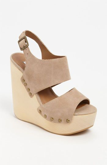 I need nude shoes … Steve Madden 'Auraa' Wedge Sandal