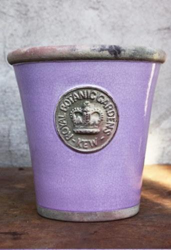 Kew long tom lavender: Long Toms, Crafts Glaze, LஇΝ Η L Ανєη Αя Η L L, Purple, Royals, Hands Crafts, Glaze Terracotta, Lavender, Botanical Gardens