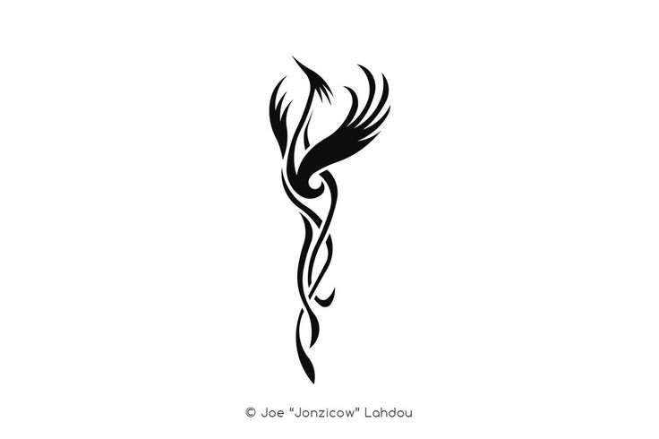 The Pheonix Note: whoever wants to use this as a tattoo is more than welcome to …