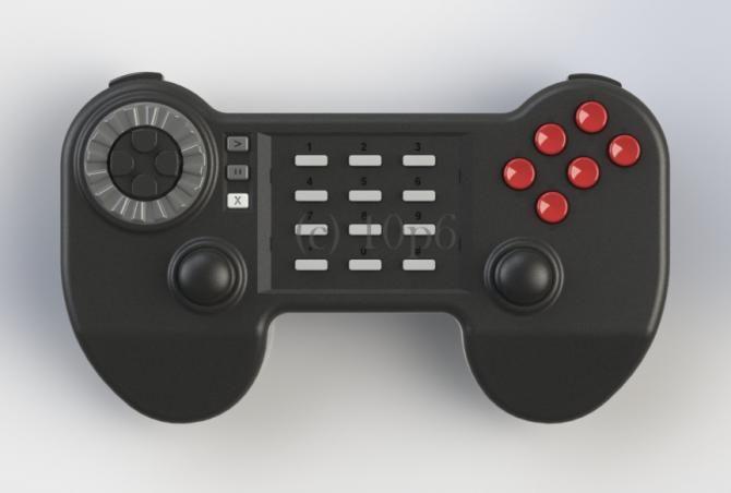 New controller in development for Atari Jaguar and 5200