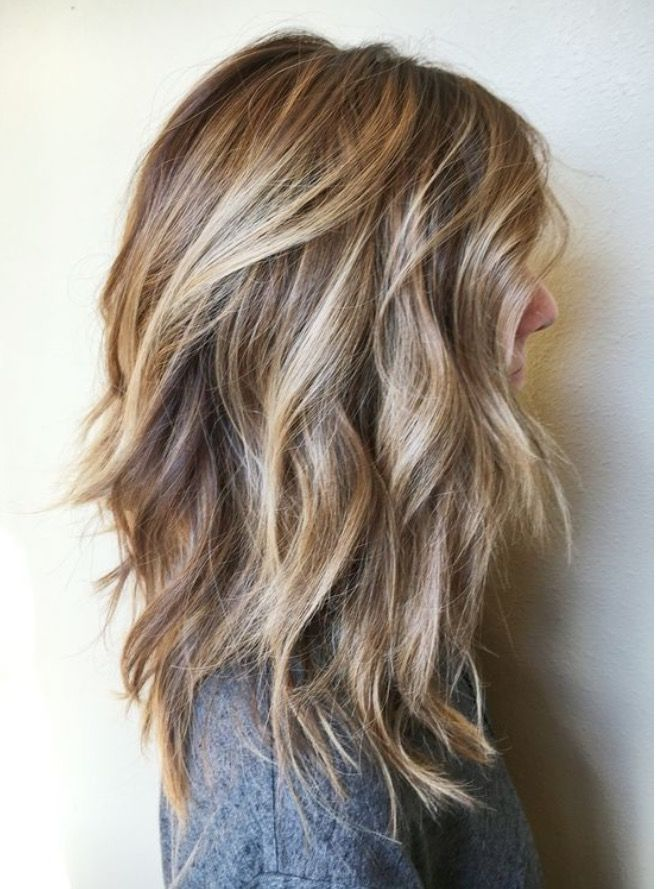 Dark blonde hair color with great cut! I want my hair to look like this!