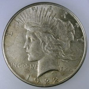 Peace dollars are silver coins worth about $17 and up. photo by wikicoins_user_james on Flickr.