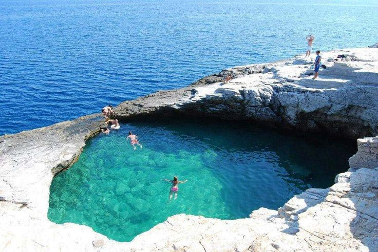 Amazing Natural Pool Giola in Thassos Island, Greece - (9 Pictures)