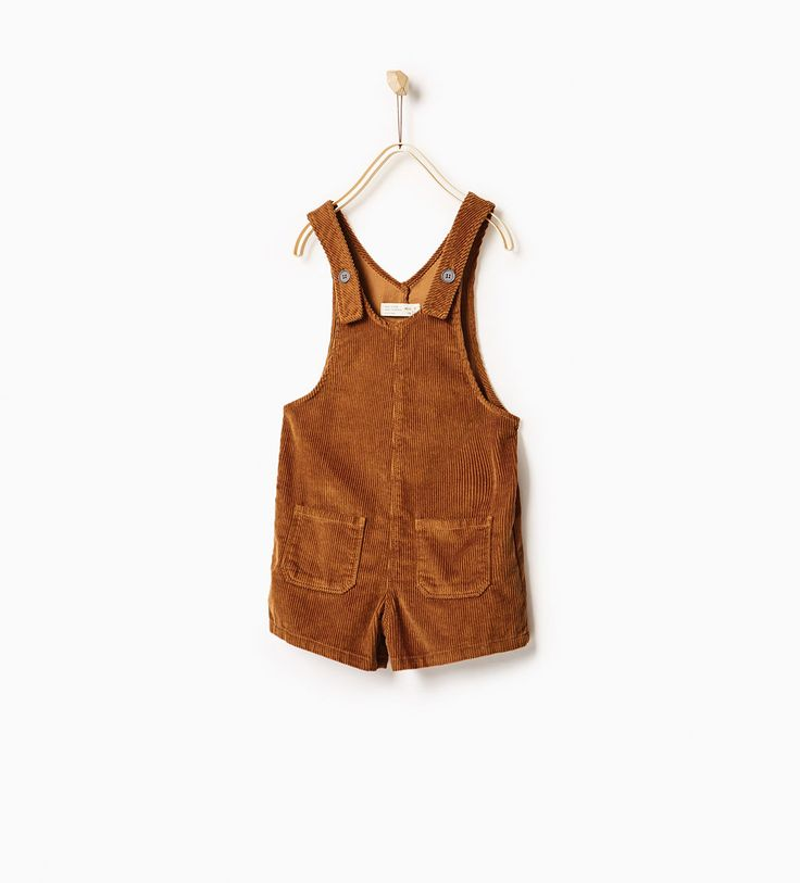 Corduroy dungarees-NEW IN-GIRL | 4-14 years-KIDS | ZARA United States
