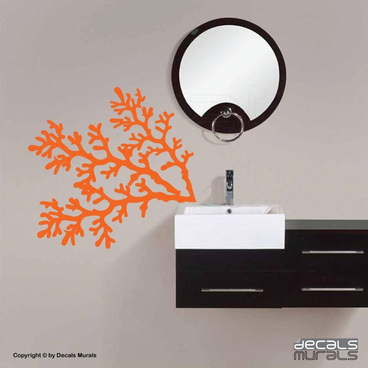 Wall Decals Coral Reef Branches Vinyl Removable Art
