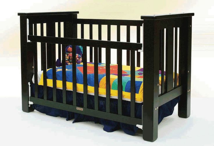 Black Cribs Make Your Baby Feel Relax And Comfort