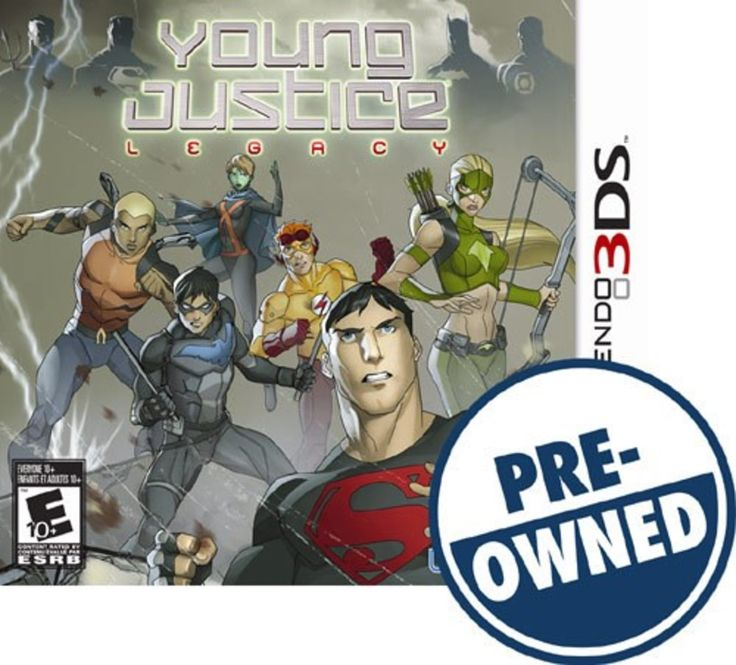 Young Justice: Legacy - PRE-Owned - Nintendo 3DS