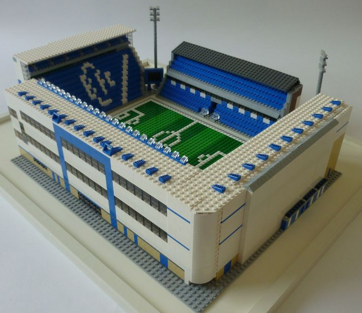 Lego Birmingham City FC Stadium - St Andrews #1
