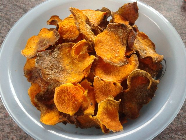 The Fit Foodie: Sweet Potato Chips