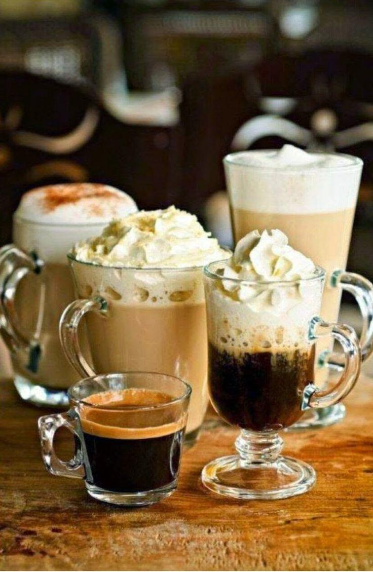 coffees I kávék