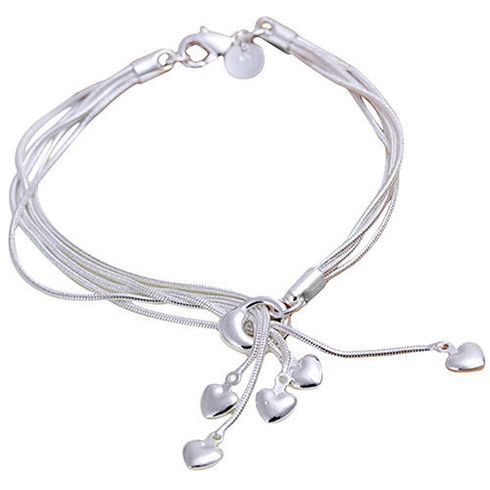 A quirky boho design you're sure to love. Buy tassel heart bracelet is sterling silver and perfect for any occasion. Get free shipping in UK.