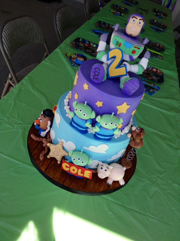 Toy Story  Birthday Cake By Little Cherry Cake Company