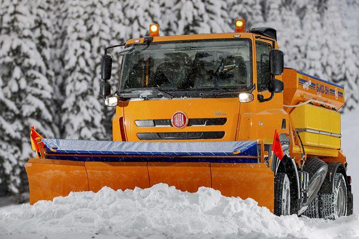 Tatra Phoenix snowplough