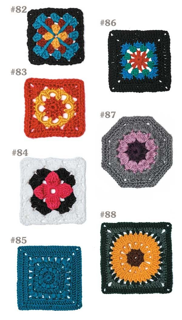 Take a creative journey beyond the basic granny square! The motifs in 99 Granny Squares to Crochet are great for using any weight of yarn and your favorite color combinations to make throws, pillows, baby blankets, shawls, scarves or cowls, bags, and more. Depending on your mood, you can give a different look to every creation. There is no limit to what a granny square can become!
