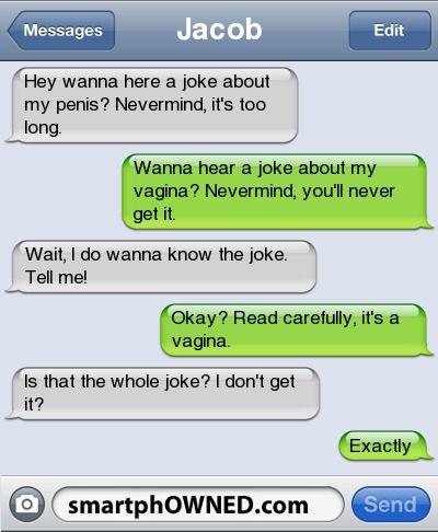 your dick jokes