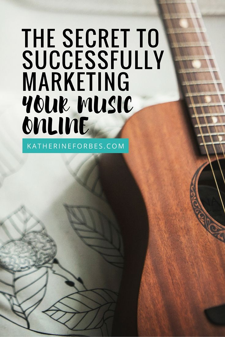 The secret to successfully marketing your music online