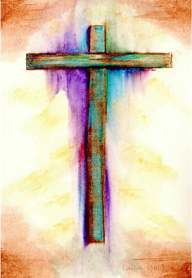 Abstract Art Crosses | Abstract Cross #3 Painting by Linda Ginn - Abstract Cross #3 Fine Art ...