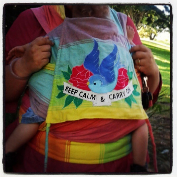 baby wearing, babywearing, wrap them, little frog   my wrap conversion i am so proud of it