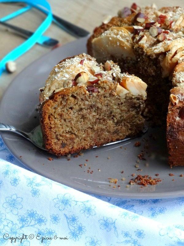 Cake Farine De Chataigne Et Pommes Sans Lait