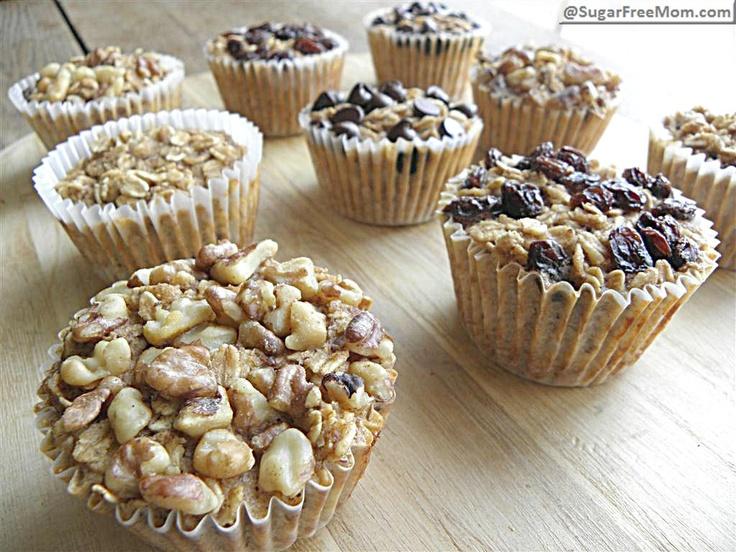 DIY oatmeal cups