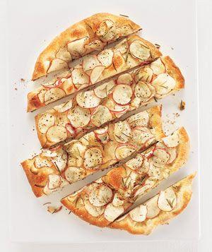 Potato and Rosemary Flat Bread