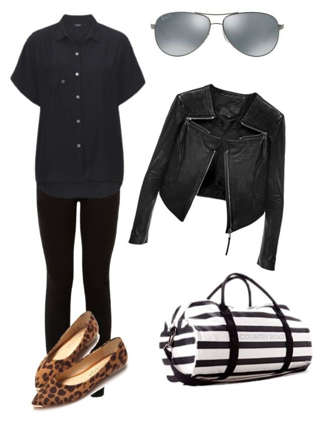 Trip up by kate-rose-ellery on Polyvore featuring polyvore, moda, style, Linea Pelle, Ray-Ban, fashion and clothing