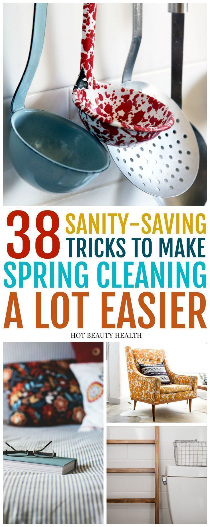 These diy spring cleaning tips and tricks are more of a checklist