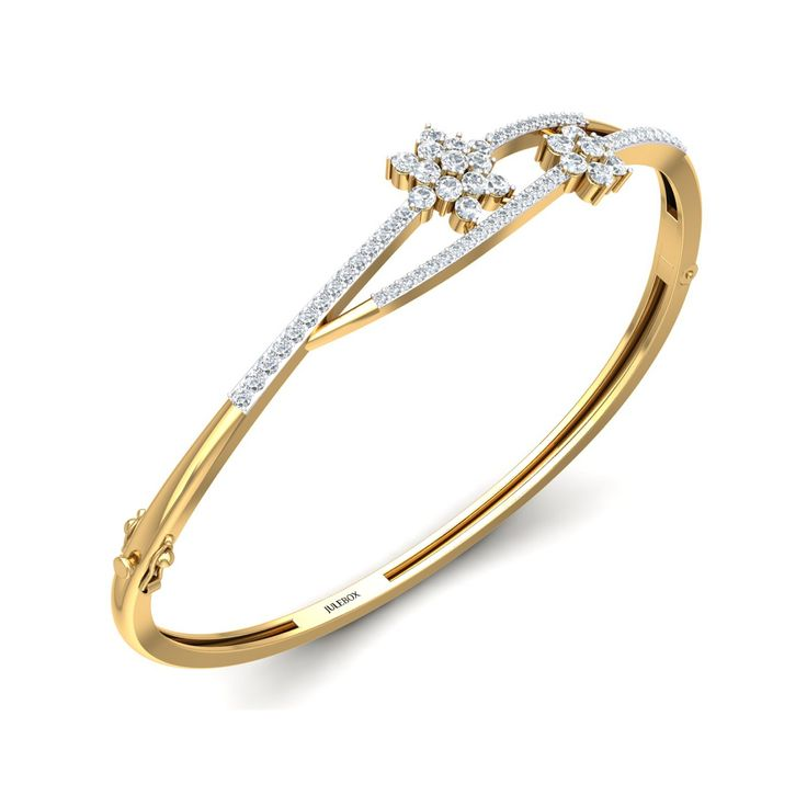 Exclusive offer on gold and diamond bracelet for women. Julebox offers a gold and diamond bracelet with great discount offers on a charming bracelet. Hurry Up!