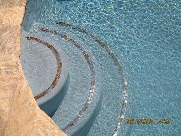 Pool Tile Design Ideas, Pictures, Remodel And Decor  Pool Tile Design Ideas