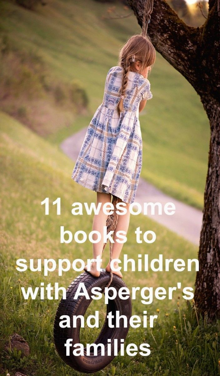 Asperger's Booklist - 11 awesome books to support children with Aspergers Syndrome and their families. ASD books resource list.