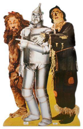 ozLife Size, Lion, Oz Parties, Tins Man, Wizardofoz, Wizards Of Oz, Tinman, Wizard Of Oz, Scarecrows