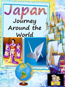 Japan - Journey around the World - All About JapanIncludeds black and white images and facts about things associated with the country.This coloring book gives all the general basic information about Japan, including:- Japanese flag- Imperial Seal of Japan- Capital-Tokyo - Largest cities - Geography - Languages- Traditional architecture- Three Views of Japan- Mount Fuji - Volcanoes- Japanese cuisine - Sport- Sumo- Volcanoes- Samurai- origami- ikebana- sakura- kimonoJapan, Japanese, Images…