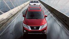 2015 Nissan Pathfinder, Cayenne Red, Nissan Pathfinder, Nissan USA, Nissan, SUV
