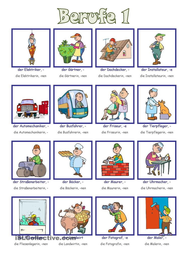 Berufe_Bildwörterbuch 1