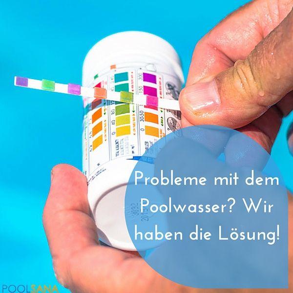 Wir haben für Sie die 5 häufigsten Fehler bzw. Probleme bei der Wasserpflege und klären auf, was dagegen zu tun ist. #wasser #pflege #pool